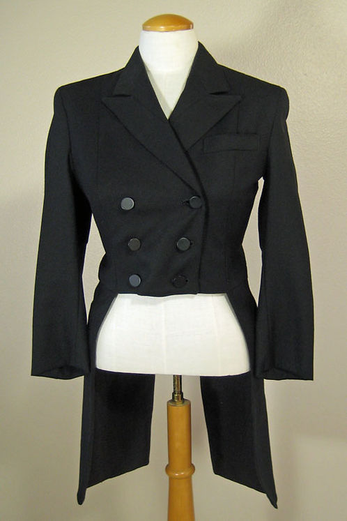 Horse Country Black Shadbelly - Ladies 4