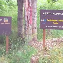 trails close to Krikello