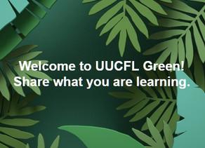 New UUCFL Green Facebook Group