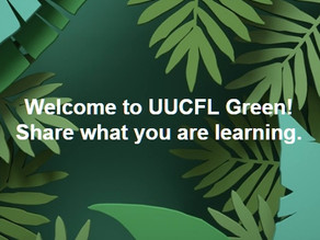 New UUCFL Green Facebook Group