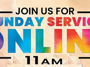 Hybrid Live/Zoom Online Sunday Services Resume 10/31