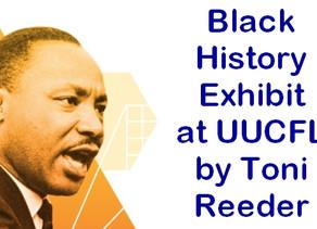 Black History Exhibit on Display at UUCFL