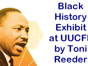 Black History Exhibit on Display at UUCFL