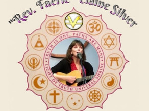 Special Event This Sunday Service - Rev Faerie Elaine Silver Appears