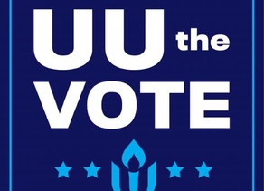 UU the Vote - National Campaign Launched!