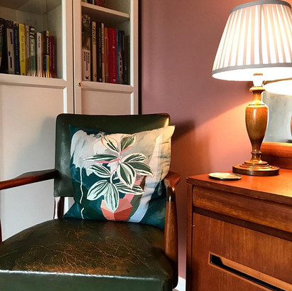 On days like these a cosy reading corner