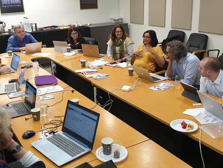 Lancement du projet à Athènes