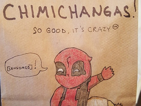 Epic Dad Draws The Best Lunch Bag Comics