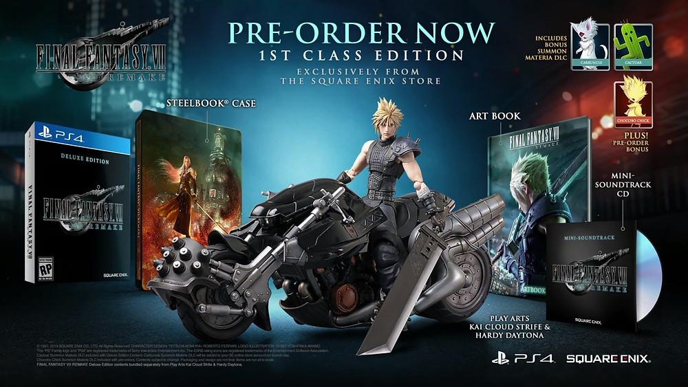 Pre-Order Final Fantasy 7 Remake Socially Gaming