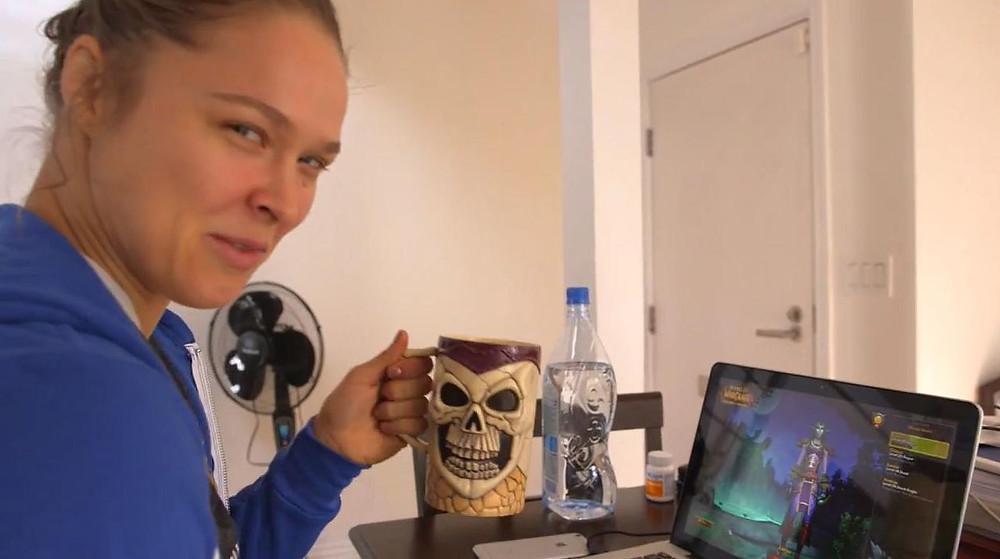 Rhonda Rousey Loves World Of Warcraft Socially Gaming