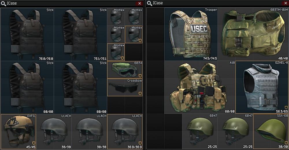 Escape From Tarkov Best Armor