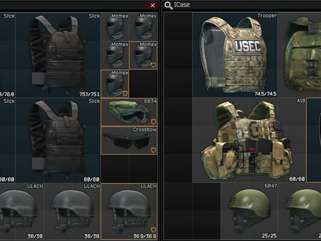 A Guide to the Armor Classes of Escape From Tarkov