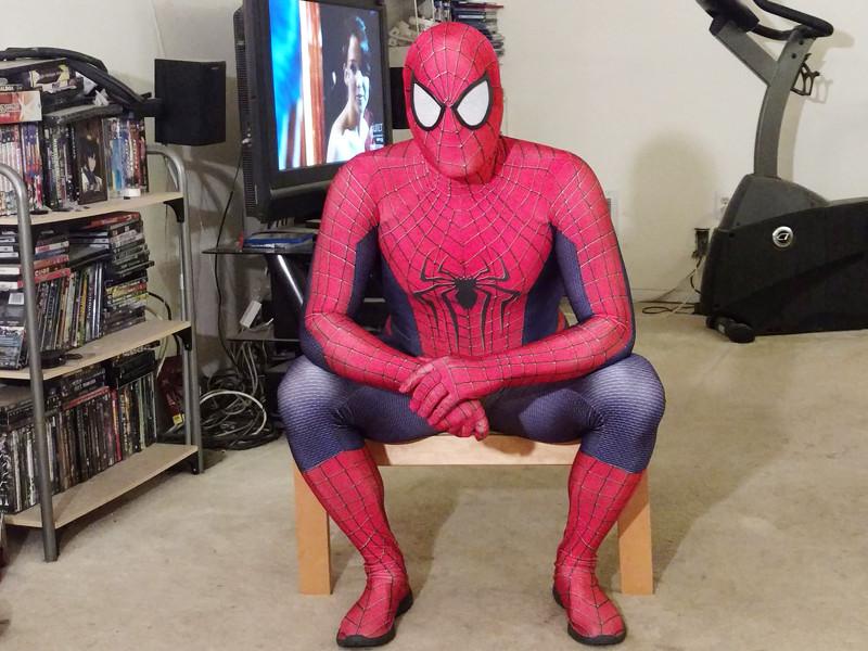 Spiderman Cosplay Socially Gaming