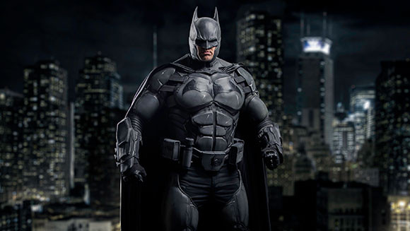 Socially Gaming Cosplay Batman
