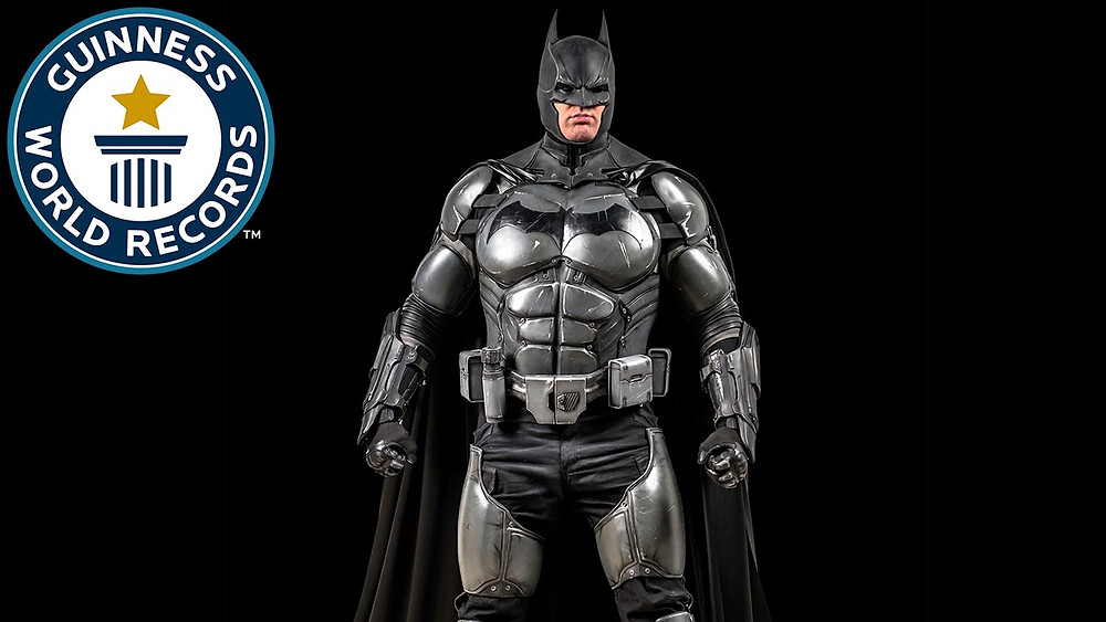 Socially Gaming Cosplay Batman Blog World Record