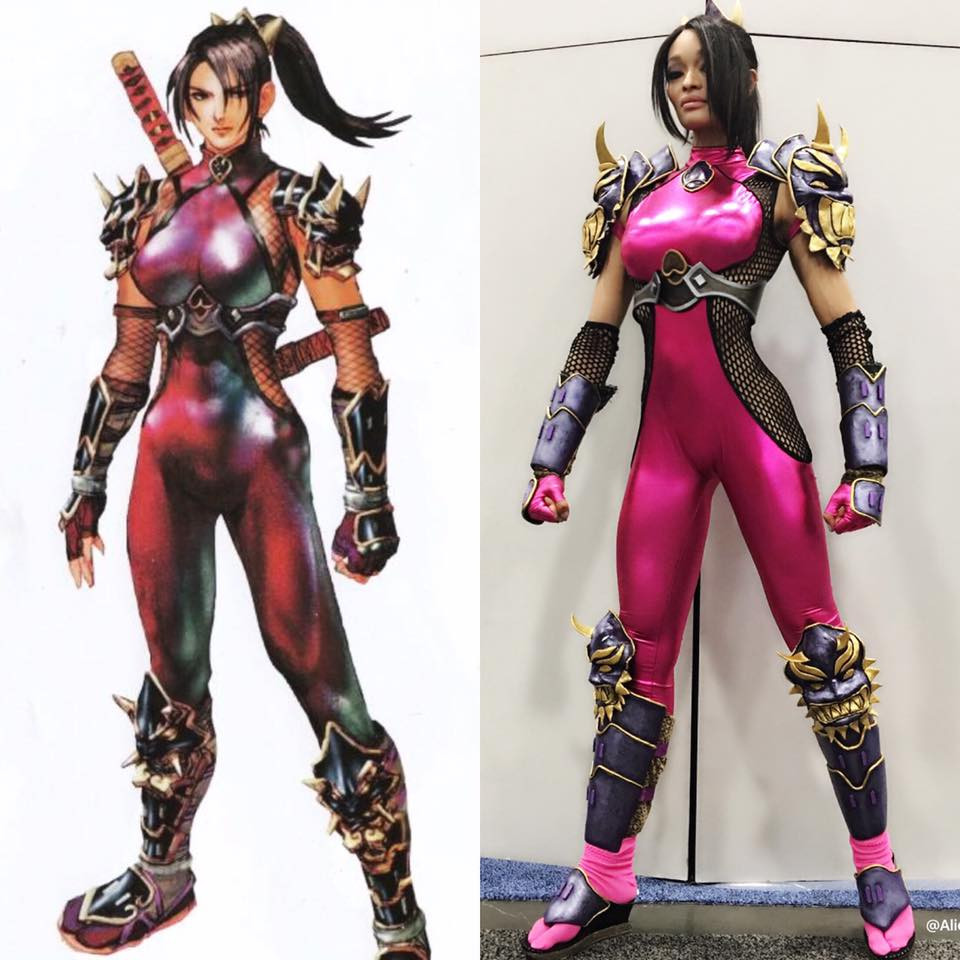 Alicia Marie Taki Cosplay Comic Con 2016 Socially Gaming