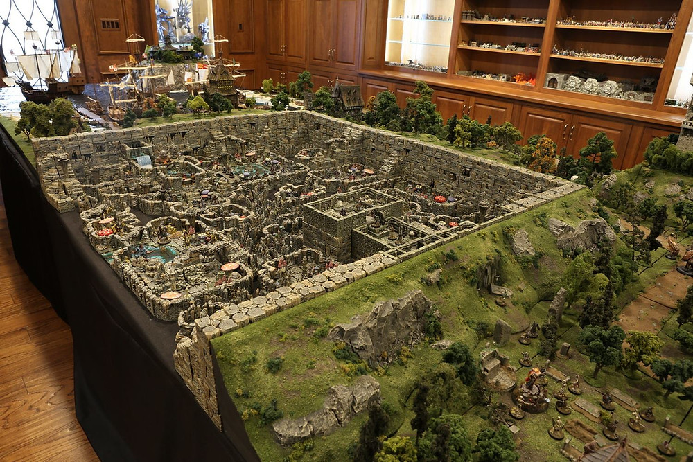 Epic Dungeons And Dragons Tabletop Diorama