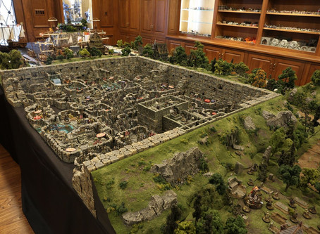 Epic Dungeons & Dragons Tabletop Diorama