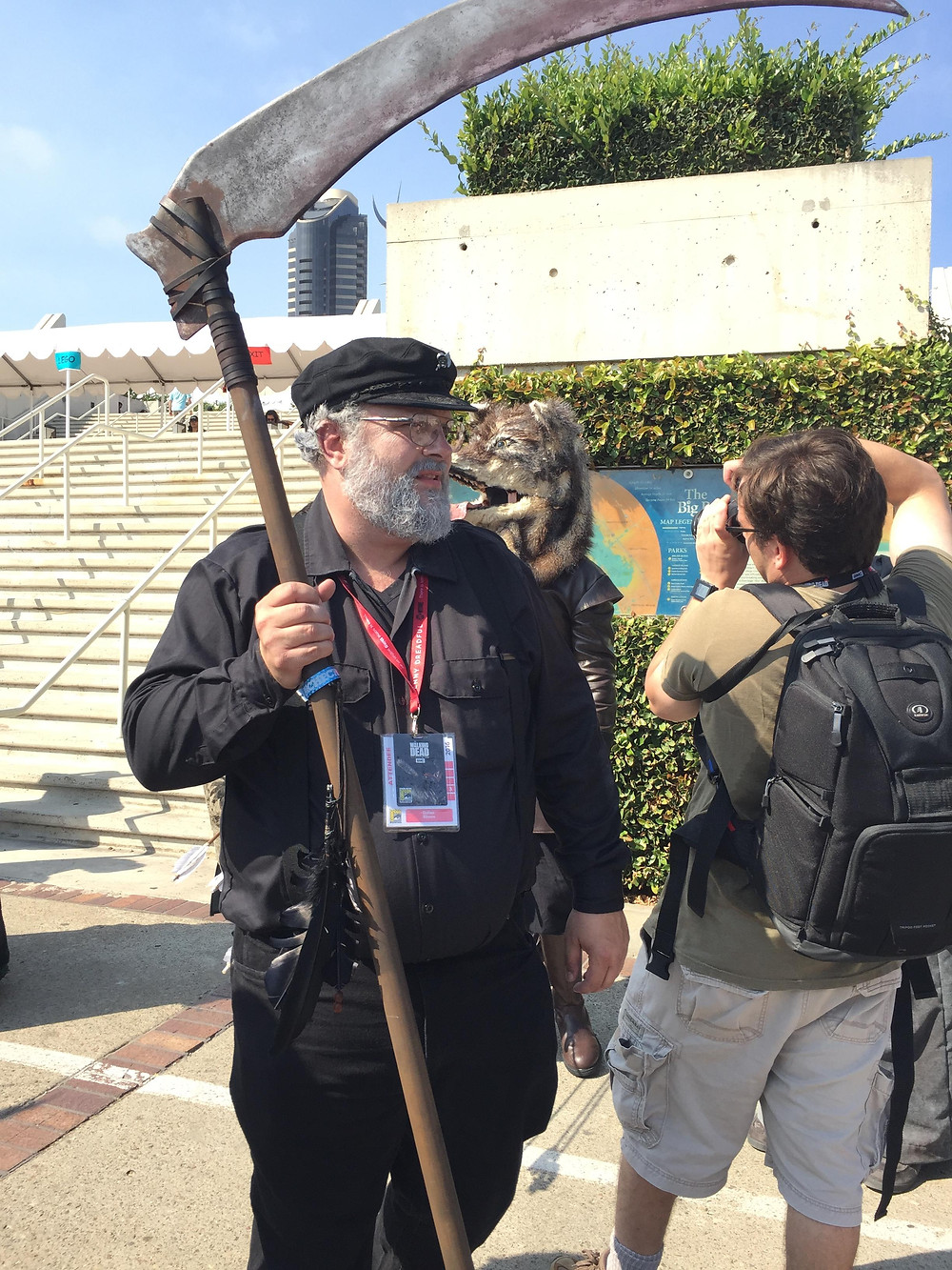Cosplay Socially Gaming George RR Martin