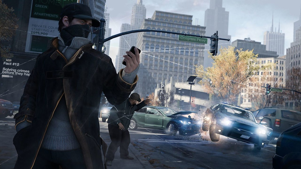 Socially Gaming Watch Dogs 2