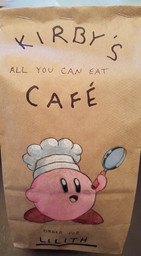 Socially Gaming chef lunchbag art