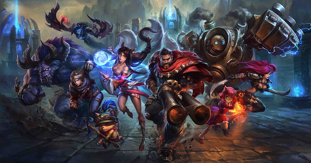 League Of Legends Socially Gaming