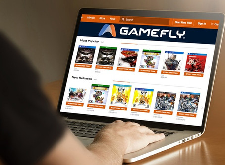 Why GameFly Is The Most Epic Gamer Service For While You're Stuck At Home.