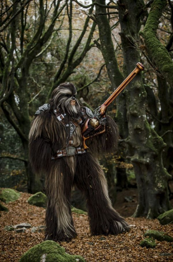 Socially Gaming Cosplay Chewbacca Cosplay Blog