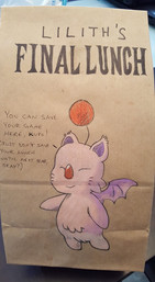 Socially Gaming Lunchbag Artwork