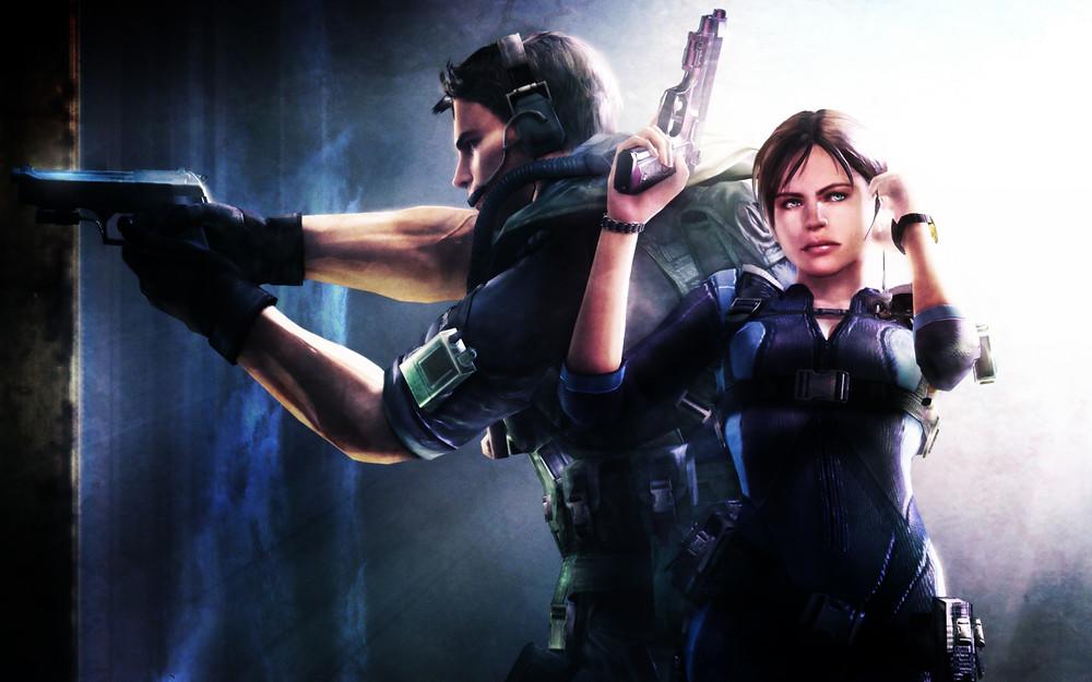 Socially Gaming Resident Evil 5