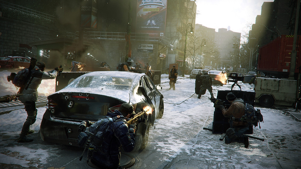 Socially Gaming The Division