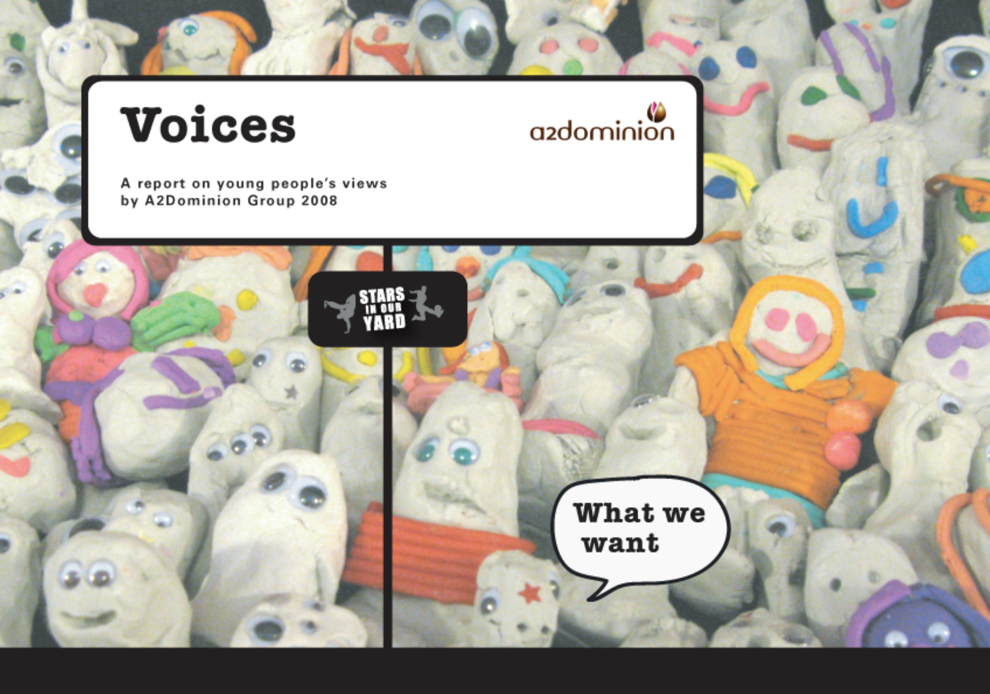Voices booklet