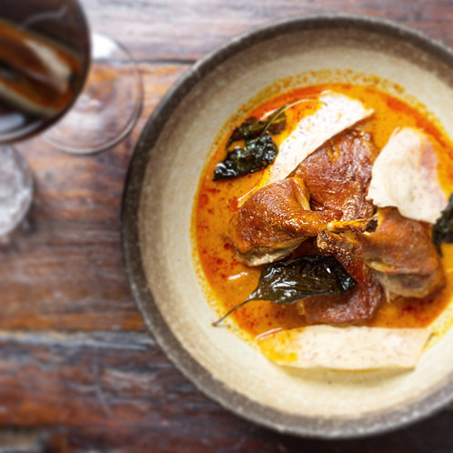 Cambodian duck curry (gf)