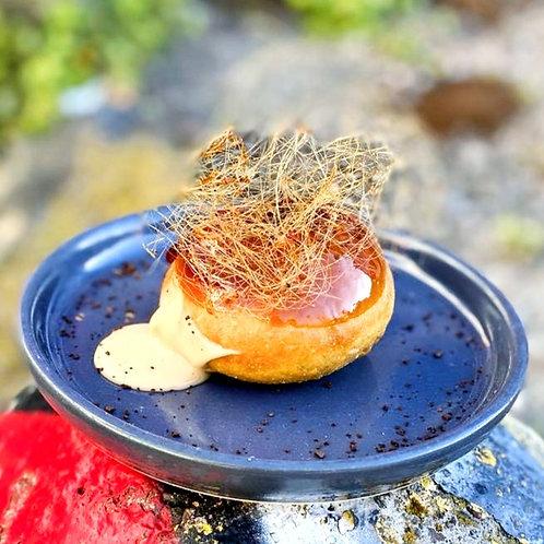 Creamy expresso doughnut