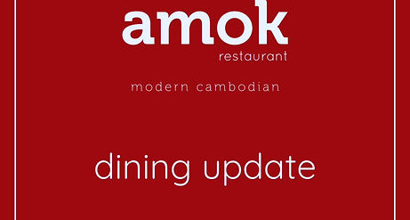 amok dining is reopening