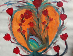 18.09.17.Flores de colores salen de mi c