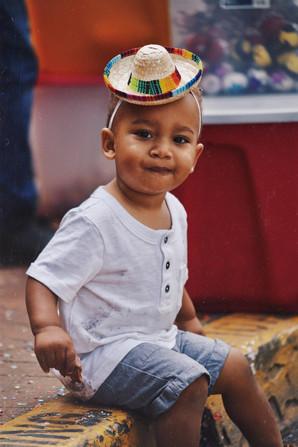 Boy at Fiesta