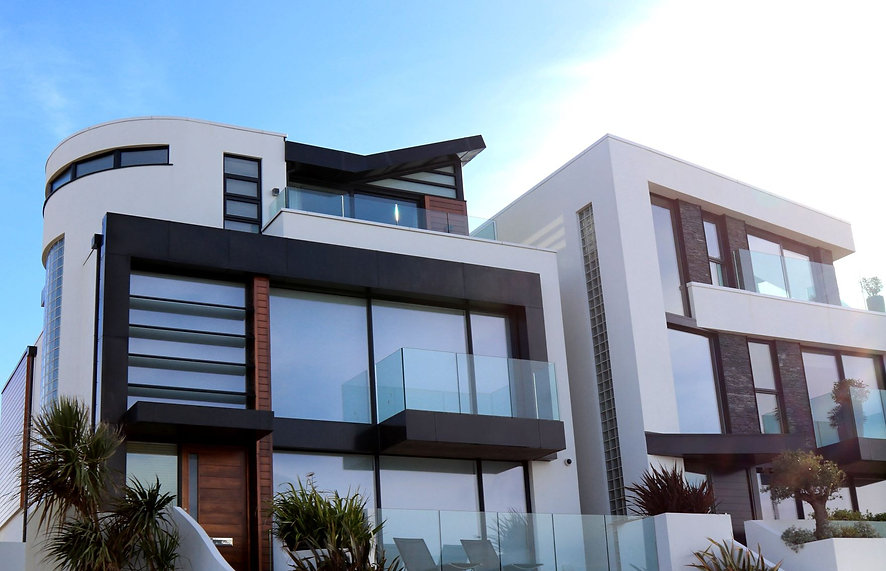 Modern Glas Haus