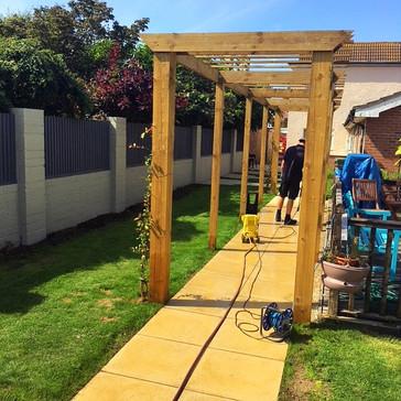 Dementia garden in Littlehampton