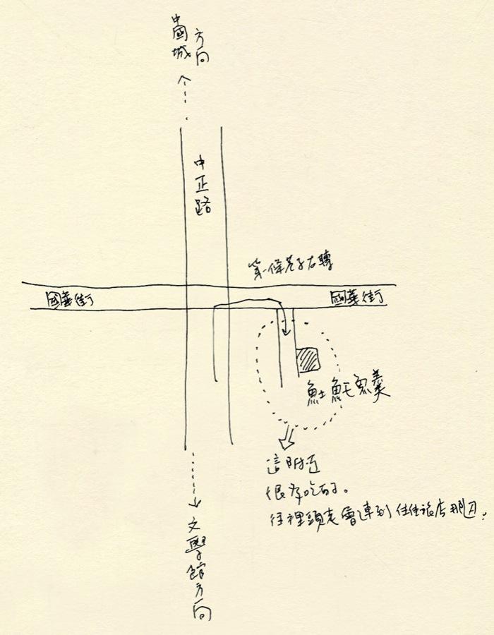 #01 stranger's map
