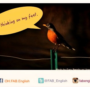 think on your feet แปลว่าอะไรนะ