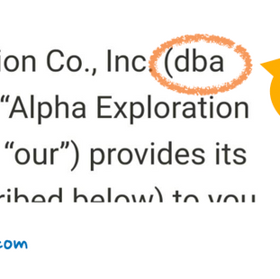 ตัวย่อ DBA แปลว่าอะไร