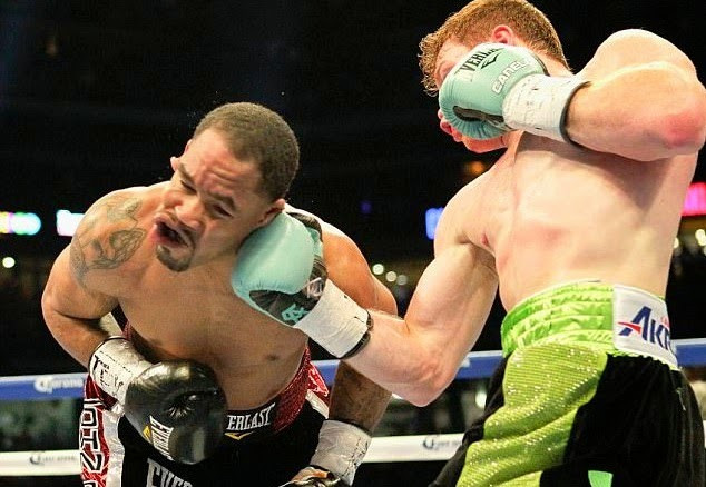 Canelo Alvarez knock out James Kirkland Video.jpg