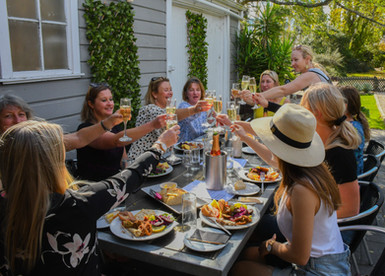 keep the party going after wine tastings
