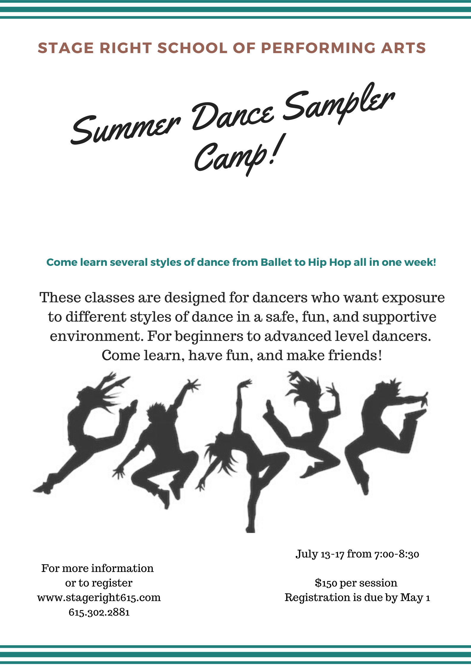 2020 Summer Dance Sampler