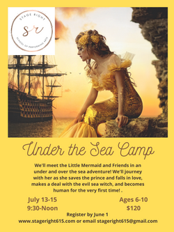 2021 Under the Sea Camp