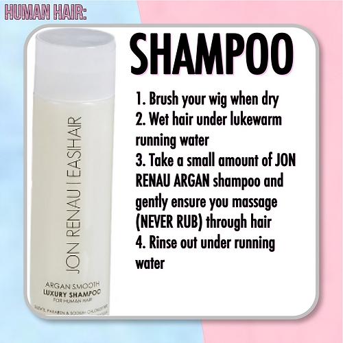HUMAN HAIR CARE - Featuring Jon Renau Argan Care Products