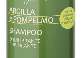 Argile et pamplemousse Shampoing équilibrant et purifiant Cod. 159818