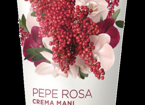 Crème mains aux extraits de poivre rose et vanille (75 ml) Cod. 159822