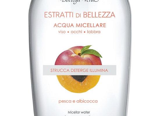 PEACH & ABRICO COMBI  ( eau micellaire & mark & cream) Cod. 155817